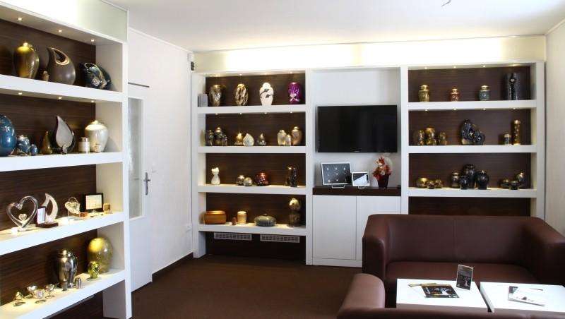 Krematorium zvířat Česká Lípa - interiér přijímací místnosti
