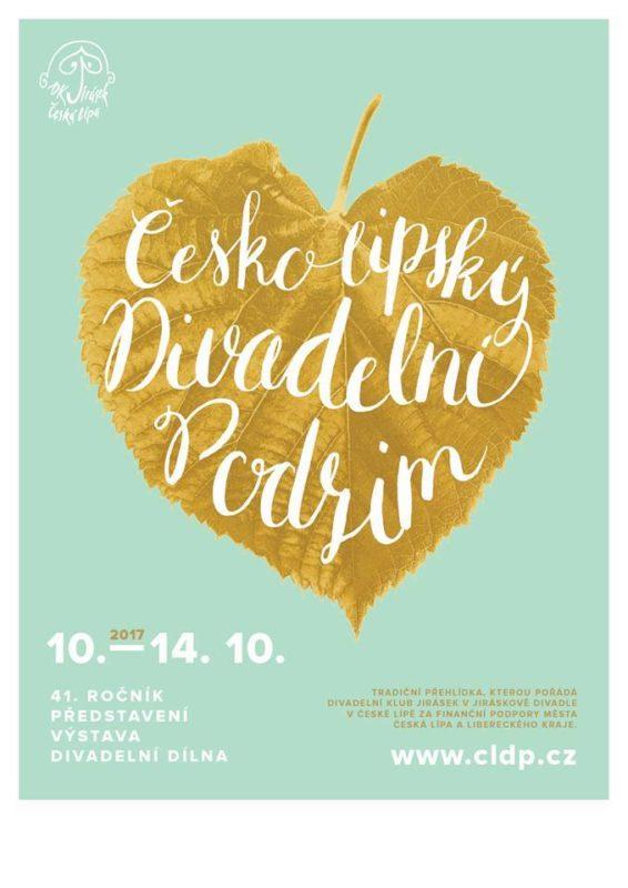 Plakát Českolipského divadelního podzimu