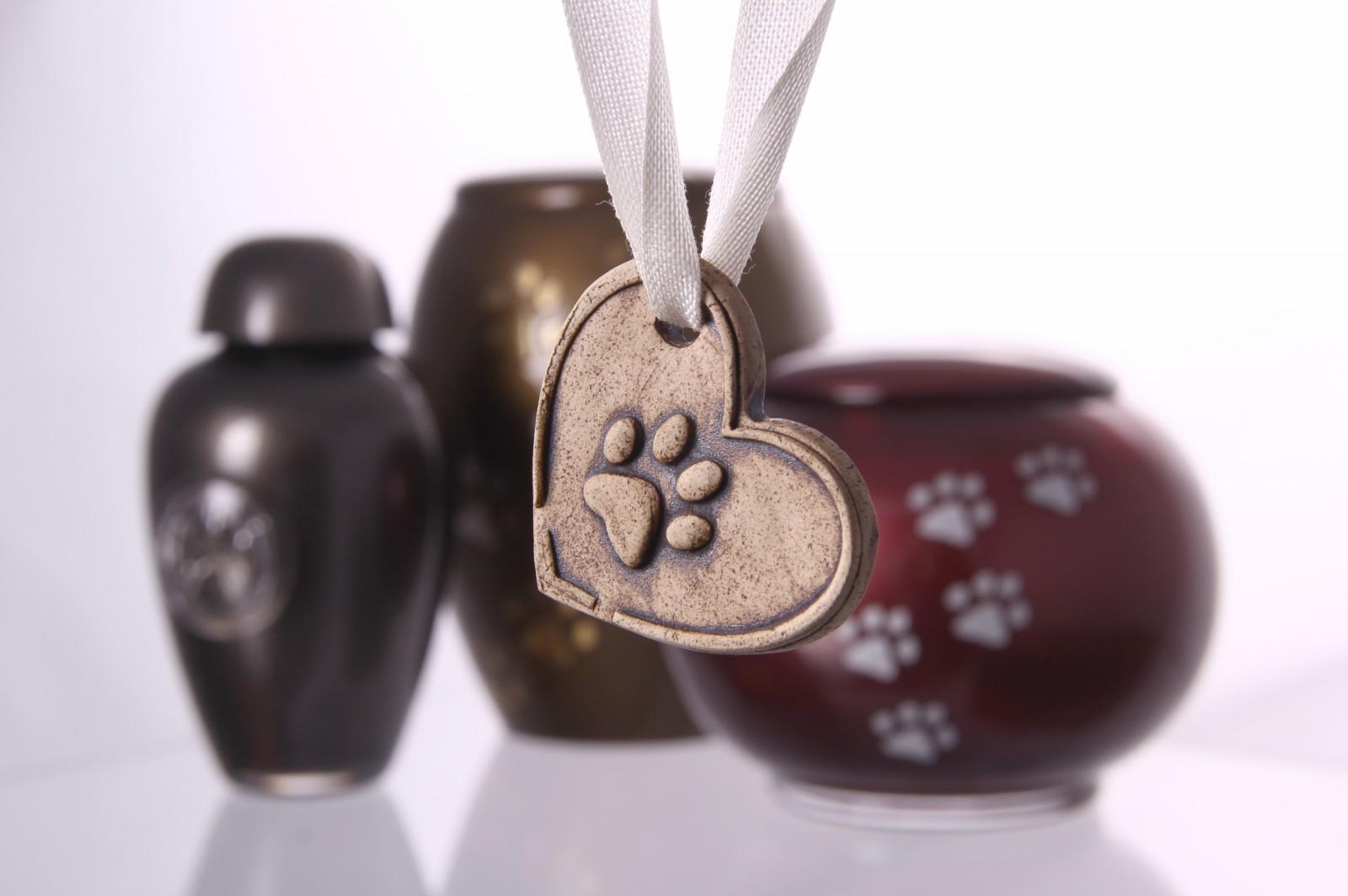 Kremační přívěsek záruka nezaměnitelnosti popela vašeho zvířátka