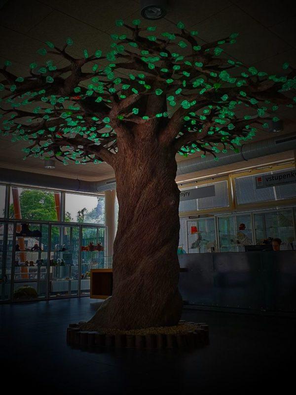 Strom biodiverzity v liberecké zoo
